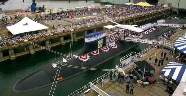 подводная лодка джимми картер фото