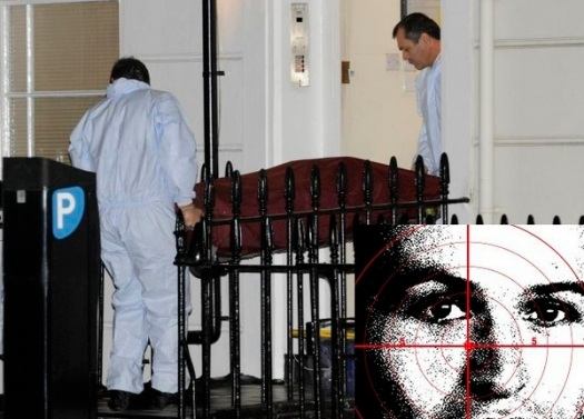 Unidentified Body leaving 36 Alderney Street, Sw1, London, tonight.