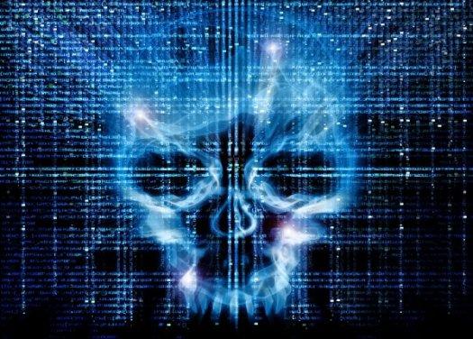 cybersecurity-skull