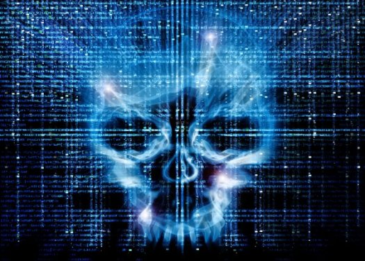 cybersecurity-skull
